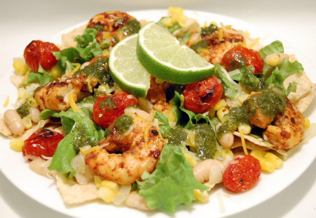 chili-lime-shrimp-taco-salad